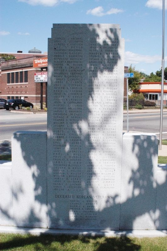 War Memorial Honor Roll Marker image. Click for full size.