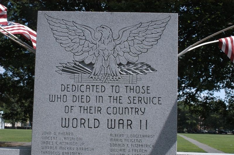 War Honor Roll Marker image. Click for full size.