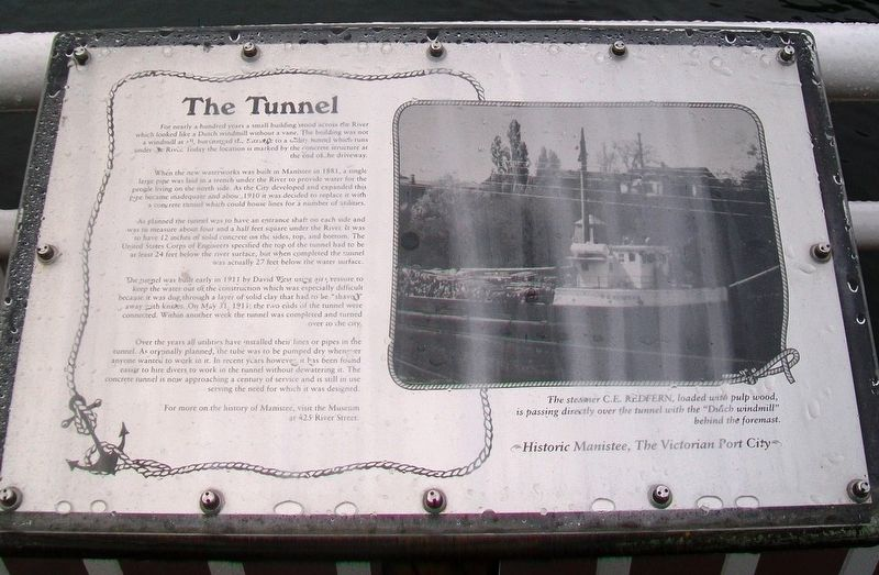 The Tunnel Marker image. Click for full size.
