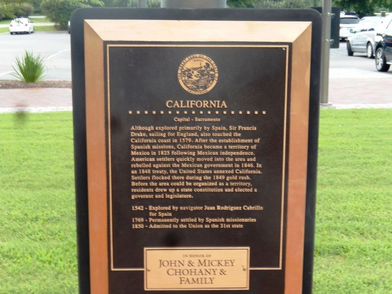 California Marker image. Click for full size.