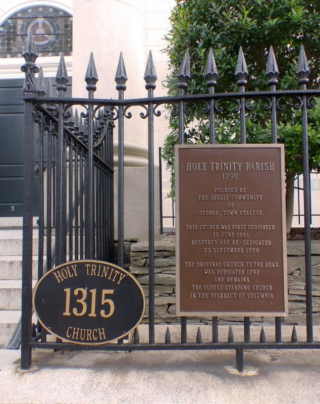Holy Trinity Parish Marker image. Click for full size.