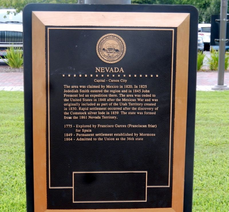 Nevada Marker image. Click for full size.