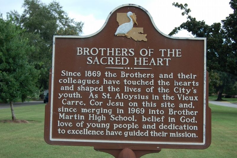 Brothers Of The Sacred Heart Marker image. Click for full size.