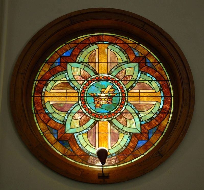 Broadalbin Methodist Episcopal Church Window image. Click for full size.