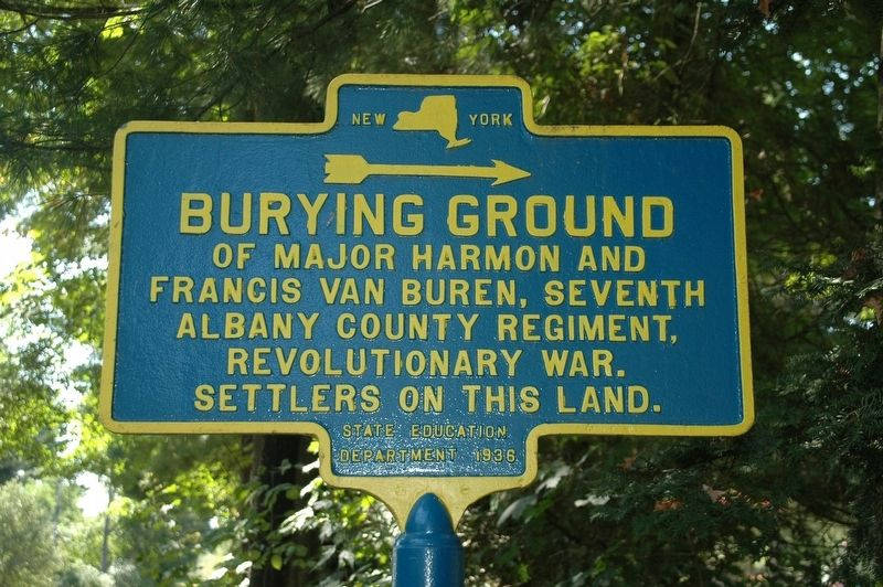 Burying Ground Marker image. Click for full size.