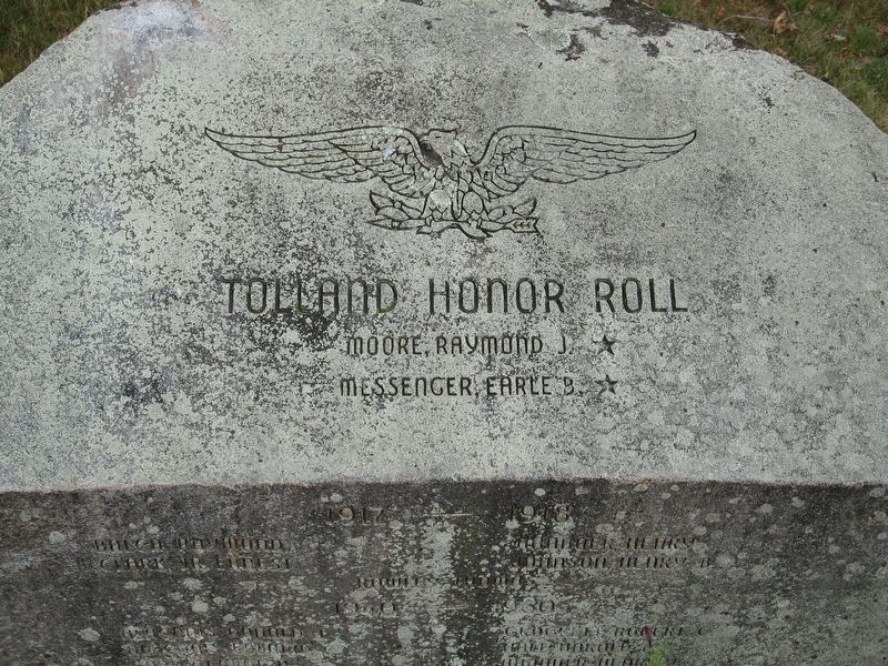 Tolland Honor Roll image. Click for full size.