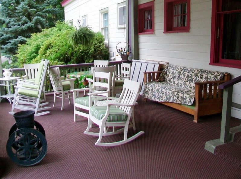 Terrace Inn Porch image. Click for full size.