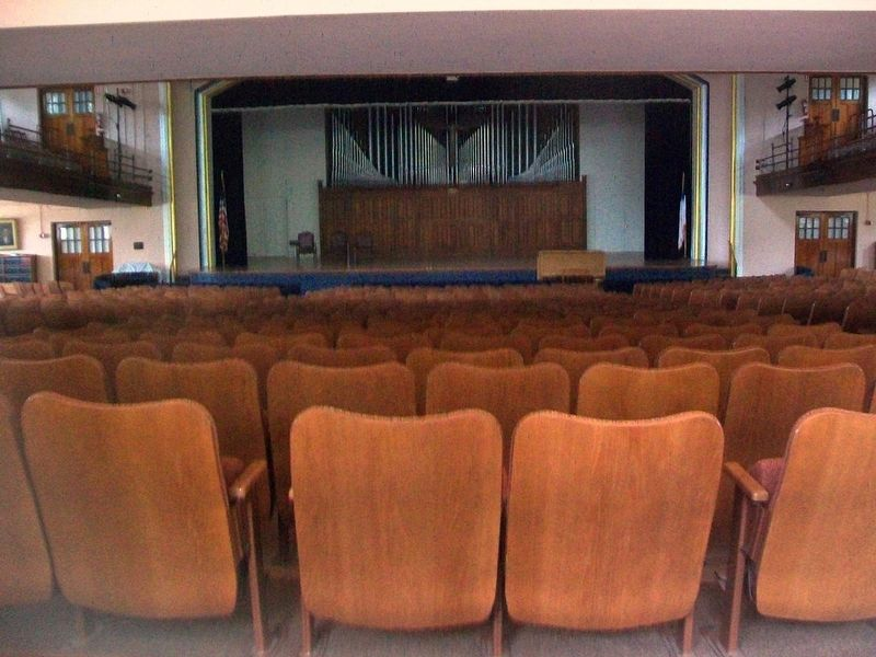 John M. Hall Auditorium image. Click for full size.