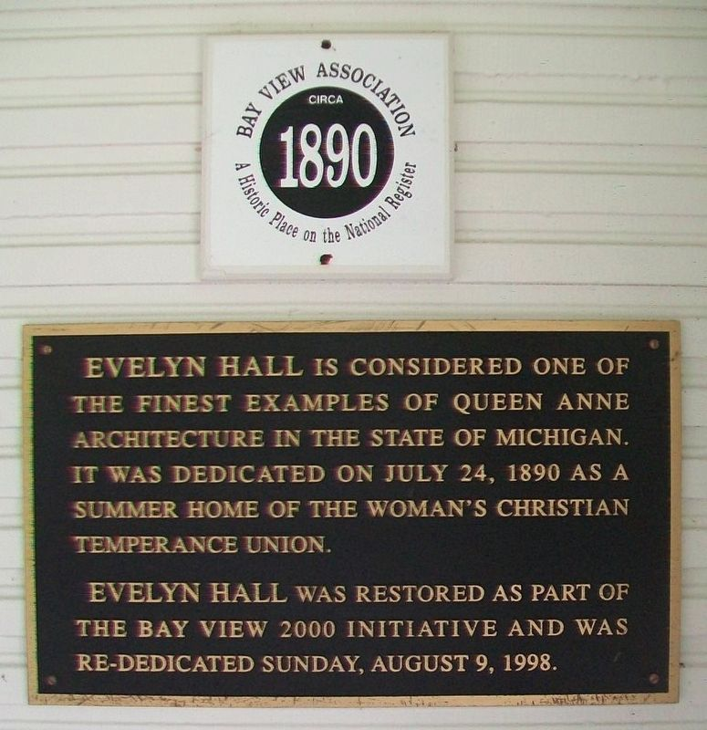 Evelyn Hall Markers image. Click for full size.