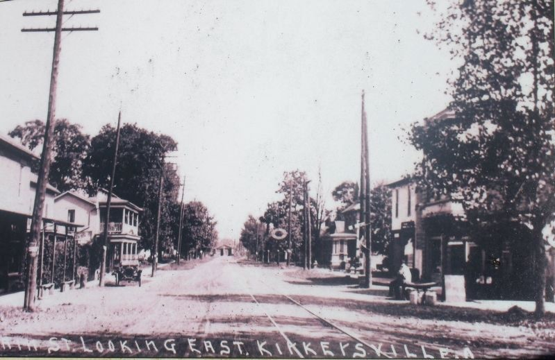 Kirkersville Marker image. Click for full size.
