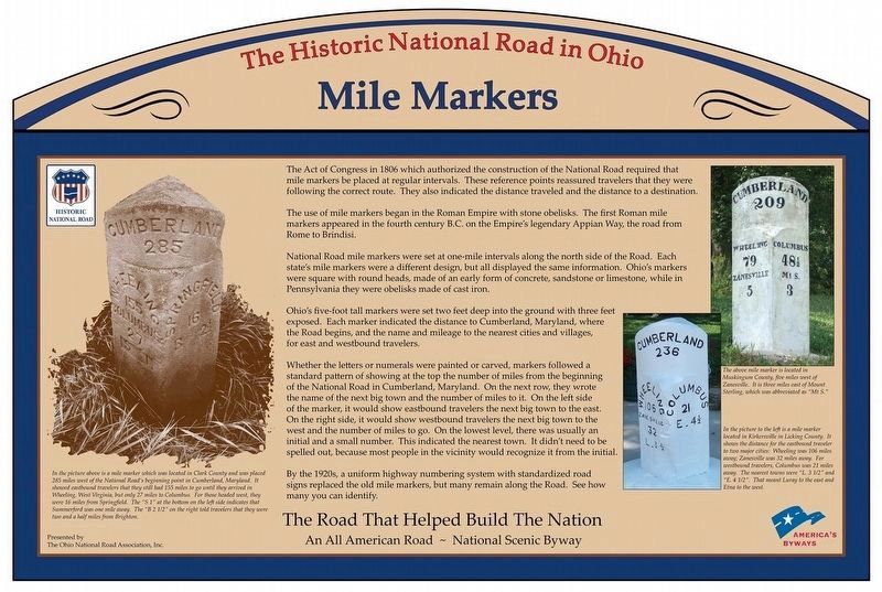 Mile Markers Marker image. Click for full size.