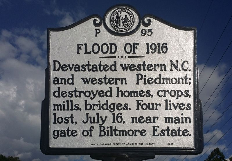 Flood of 1916 Marker image. Click for full size.