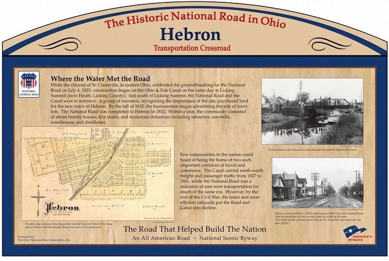 Hebron Marker image. Click for full size.