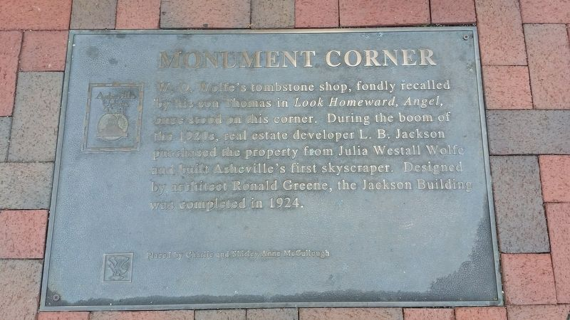 Monument Corner Marker image. Click for full size.