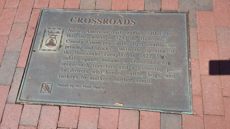 Crossroads Marker image. Click for full size.