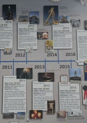 Burning Man Timeline, 2011 - 2015 Marker image. Click for full size.