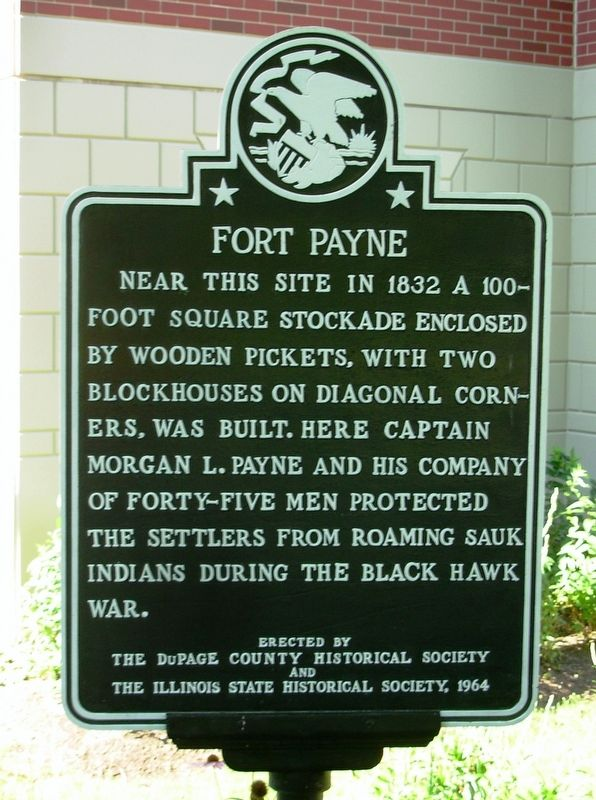 Fort Payne Marker image. Click for full size.