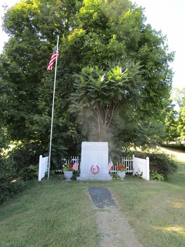 Raymertown WWII Memorial image. Click for full size.