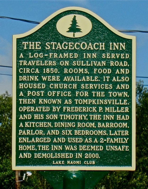The Stagecoach Inn Marker image. Click for full size.