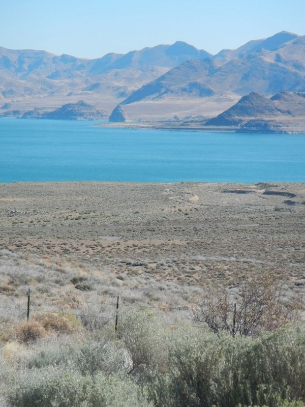 Pyramid Lake image. Click for full size.