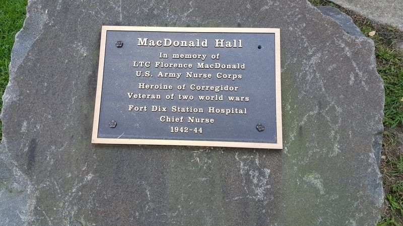 MacDonald Hall Marker image. Click for full size.