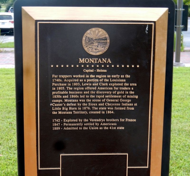 Montana Marker image. Click for full size.
