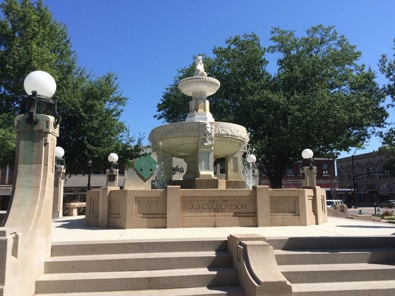 Culbertson Fountain. image. Click for full size.