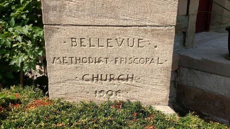 Greenstone United Methodist Church Cornerstone image. Click for full size.