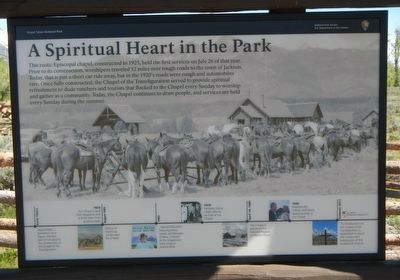 A Spiritual Heart in the Park Marker image. Click for full size.