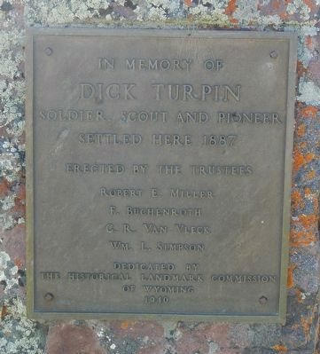 Dick Turpin Marker image. Click for full size.