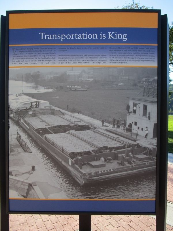 Transportation is King image. Click for full size.