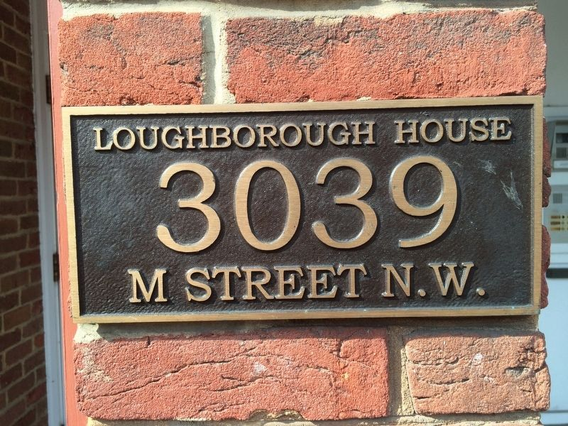 Nathan Loughborough's Houses Marker image. Click for full size.