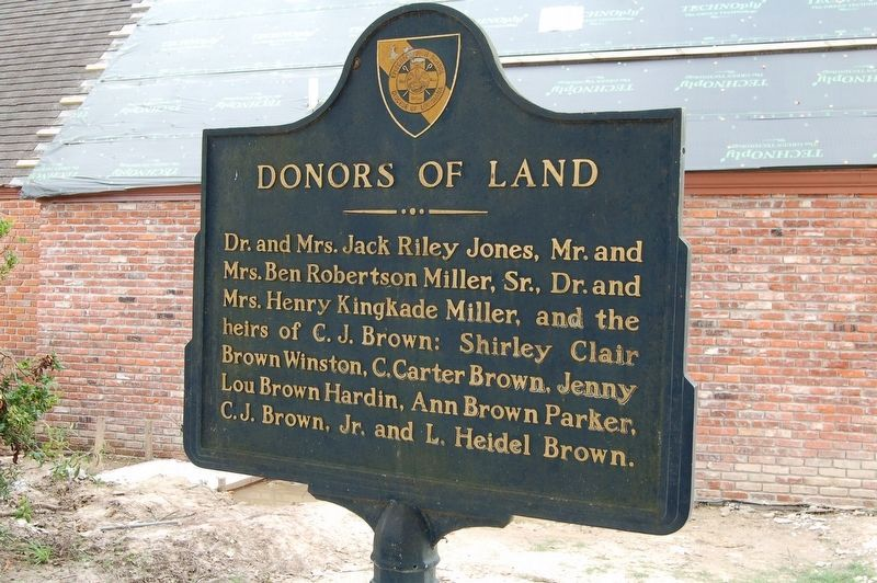 Donors of Land Marker image. Click for full size.