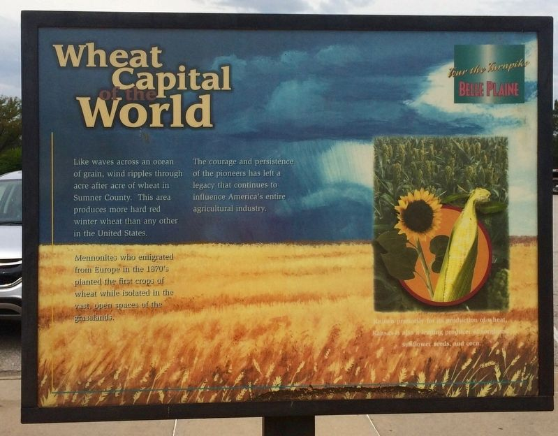 Wheat Capital of the World Marker image. Click for full size.