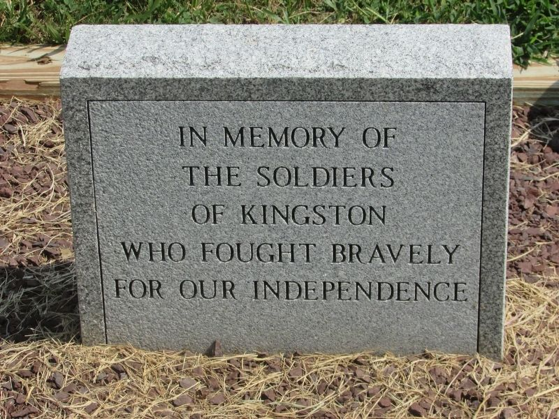 Kingston Revolutionary War Soldiers Marker image. Click for full size.