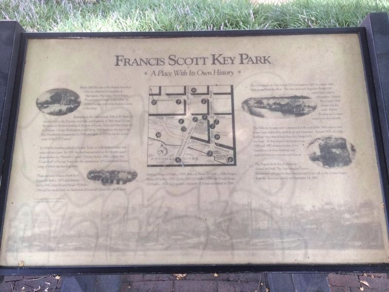 Francis Scott Key Park Marker image. Click for full size.