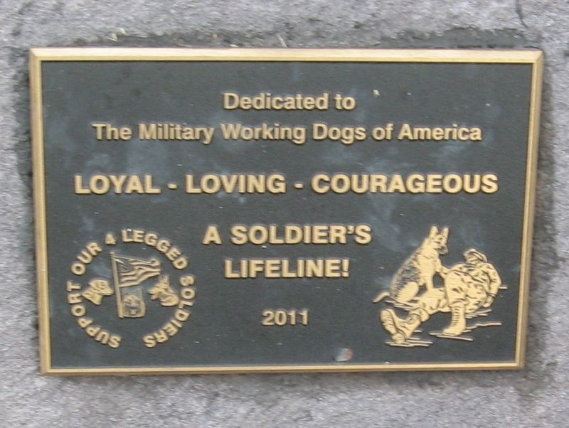 A Soldier's Lifeline! Marker image. Click for full size.