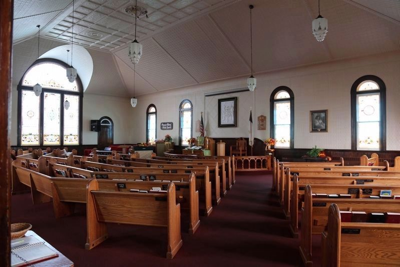 Swain Memorial United Methodist Church Sanctuary image. Click for full size.