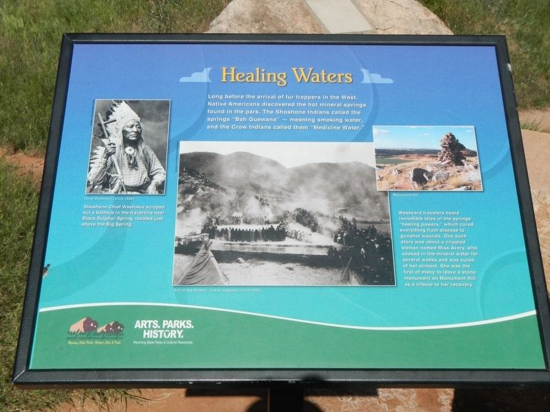 Healing Waters Marker image. Click for full size.