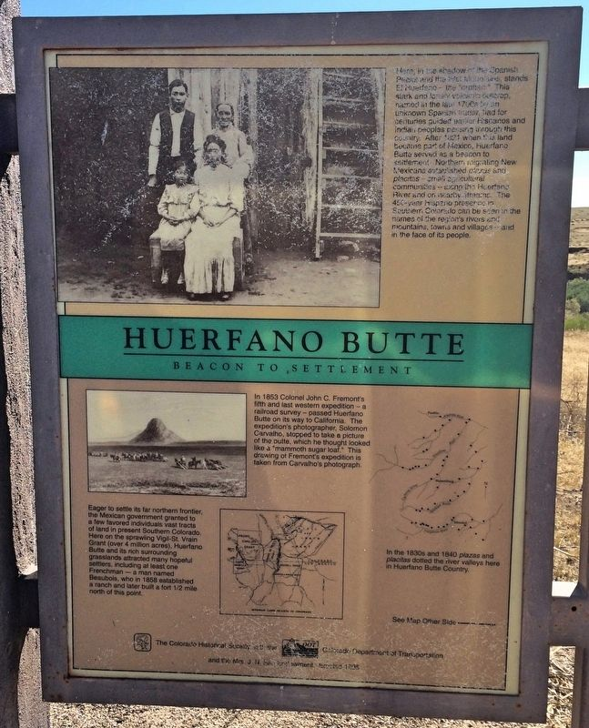 Huerfano Butte (Panel 1) image. Click for full size.
