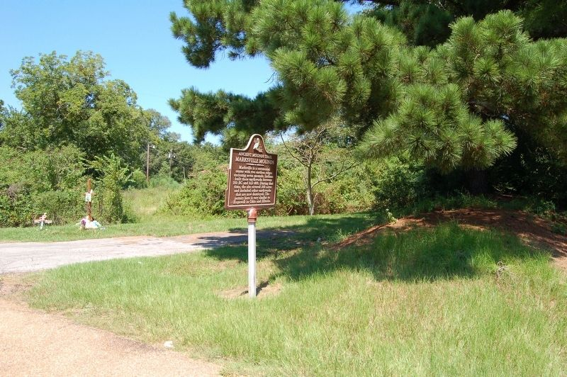 Marksville Mounds Marker image, Touch for more information