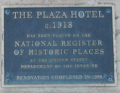 The Plaza Hotel image. Click for full size.