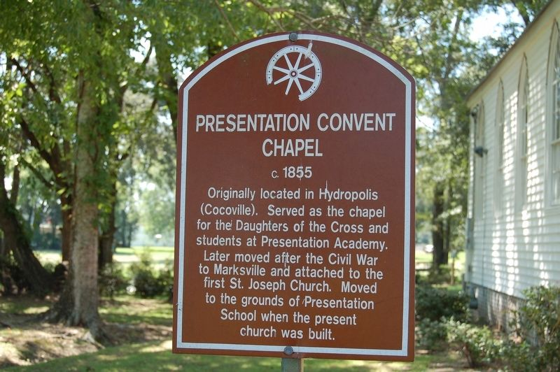 Presentation Convent Chapel Marker image. Click for full size.