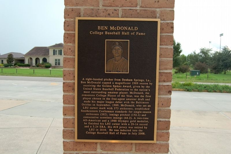 Ben McDonald Marker image. Click for full size.