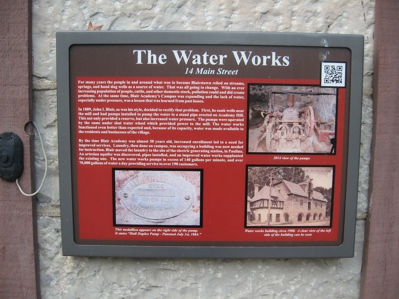 The Water Works Marker image. Click for full size.