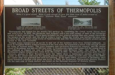Broad Streets of Thermopiles Marker image. Click for full size.