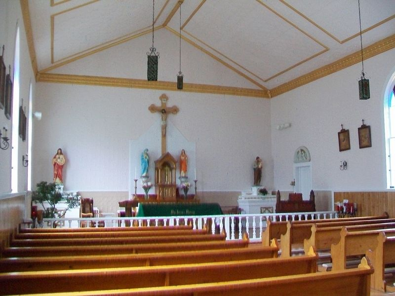 St. Ignatius of Loyola Church Interior View image. Click for full size.