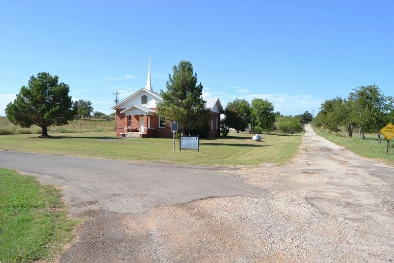 Mingus Baptist Church image. Click for full size.