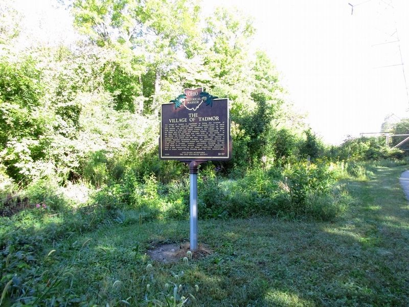 The Village of Tadmor Marker image. Click for full size.