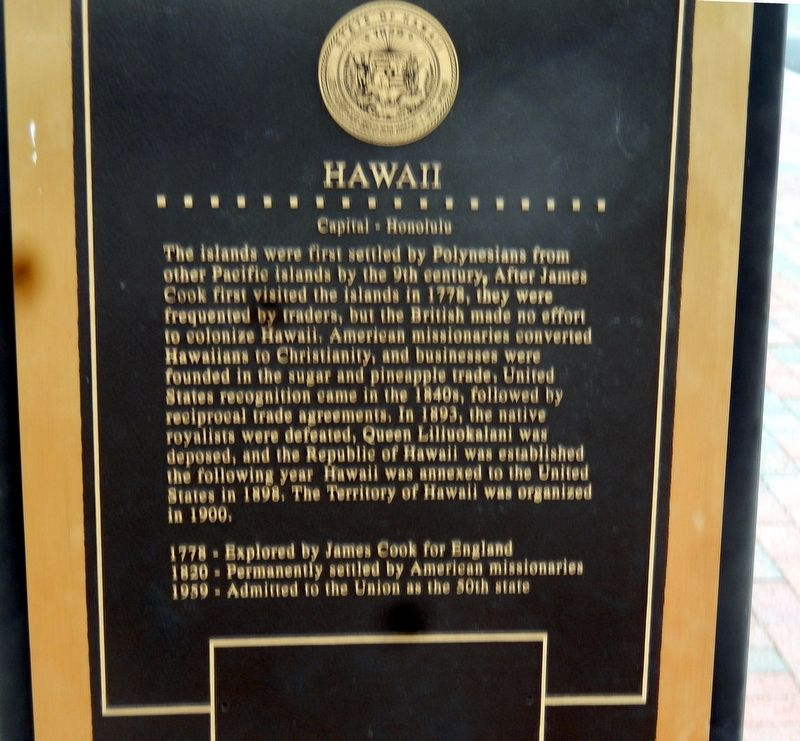 Hawaii Marker image. Click for full size.